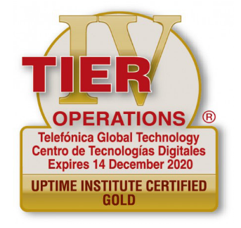 tier data center máxima seguridad